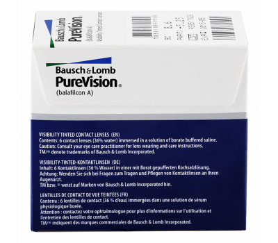 PureVision Krzywizna 8,3 (BC 8,3)