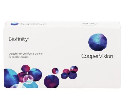Biofinity® 6 szt.