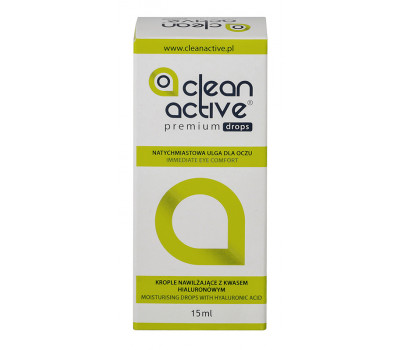Clean Active Premium Drops 15 ml