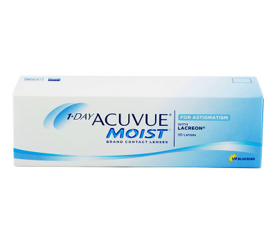 Acuvue 1-DAY Moist™ for Astigmatism 30 szt.