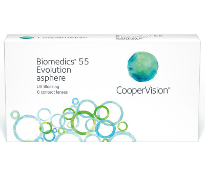 Biomedics 55 evolution™ - moce ujemne