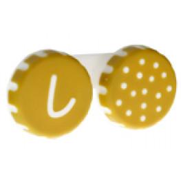 Pojemniczek na soczewki (kropki)