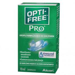 OPTI-FREE PRO krople nawilżające do soczewek 10 ml