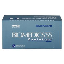 Biomedics 55 evolution™ - ujemne moce