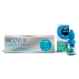 Zdjęcie: Zestaw ACUVUE® OASYS 1-Day 30 szt. i blink® contacts 10 ml