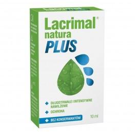 Zdjęcie: Lacrimal Natura Plus krople do oczu 10 ml